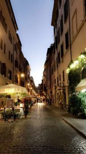 Huda B, Rome, Summer 2017