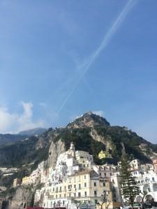 Amalfi Coast line