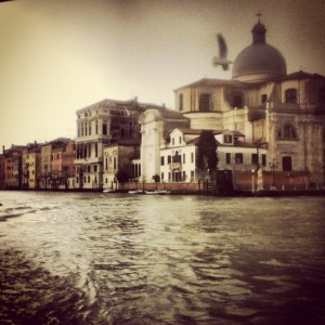 The view from our bus/boat ride through Venice