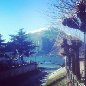 A sunny day at Lake Como