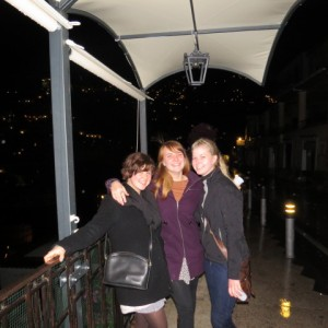 Lindsey, my Roommate on the right, and I in Positano-a costal town near Sorrento.