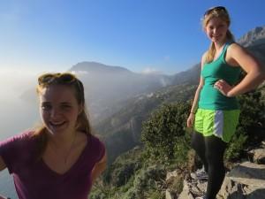 Hiking the Trail of the Gods along the Amalfi Coast